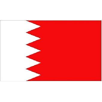 Bahraini Flag 5ft x 3ft With Eyelets For Hanging