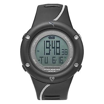 Cardiaca refleja PUMA reloj hombres negro reloj digital PU911291002