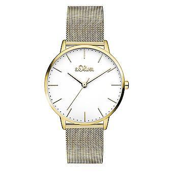 s.Oliver women's watch wristwatch stainless steel SO-3445-MQ