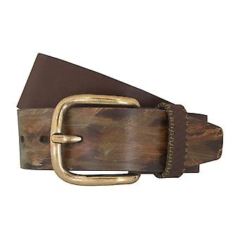 LLOYD Men's belt belts men's belts leather belt Brown 5355