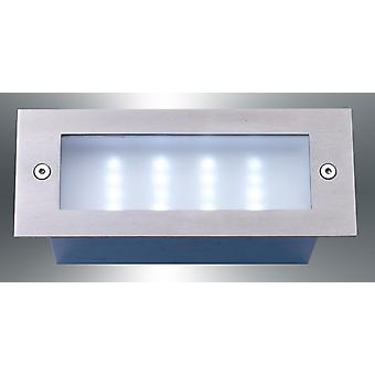 LED wall recessed luminaires, IP54, 17 x 6, 8 cm, Led_Recess4 10109