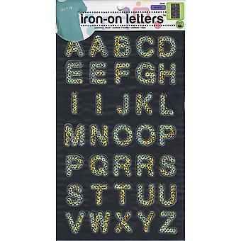 Iron-On Sequin Letters 1