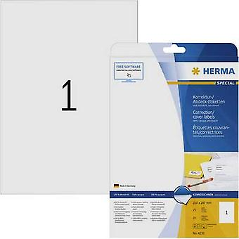Herma 4230 Labels 210 x 297 mm Paper White