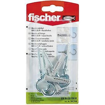 Universal dowel Fischer UX 6 x 35 RH K 35 mm 6 mm 94248 4 pc(s)