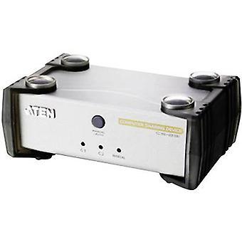 ATEN CS231C-AT-G 2 puertos KVM conmutador VGA USB 1920 x 1440 pix