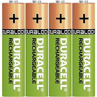Duracell StayCharged HR03 AAA battery (rechargeable) NiMH 800 mAh 1.2 V 4 pc(s)