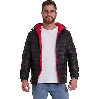 Outdoor Look Mens Evanton Padded Puffa Quilted Jacket Coat