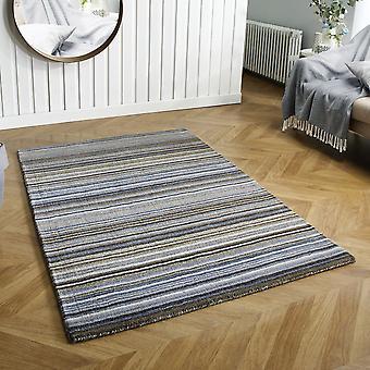 Carter grå rektangel mattor Plain/nästan slätt mattor