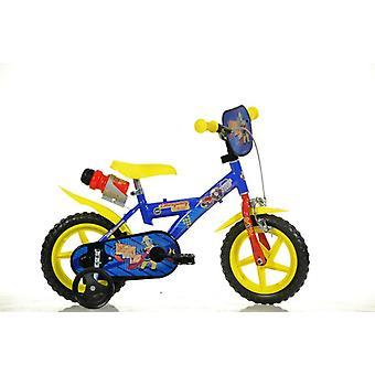Bombeiro de bicicleta bebê Sam 12inches