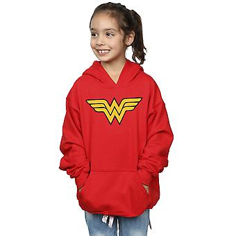 DC Comics Girls Wonder Woman Logo Hoodie