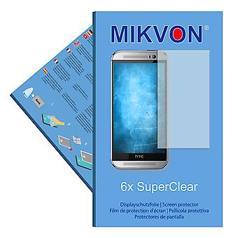 HTC One M8 2014 LTE-A NA screen protector- Mikvon films SuperClear