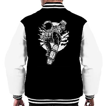 Space Skater Men's Varsity Jacket