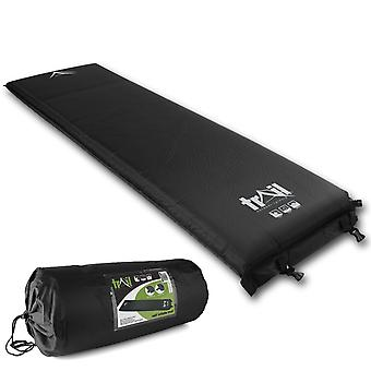 Self Inflating Camping Mat Inflatable Sleeping Roll Mattress 10cm Extra Thick
