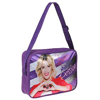 Violette Umhängetasche Messenger Bag 35x25x10cm lila