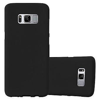 Cadorabo etui til Samsung Galaxy S8 PLUS - mobile sagen TPU silikone måtter frosted design - silikone case cover ultra slim blød bagside sag kofanger