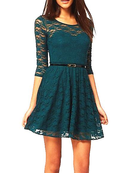Waooh - Fashion - Dress Lined Lace Fabia
