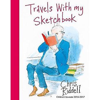 Reizen met mijn schetsboek door Chris Riddell - 9781509856565 boek