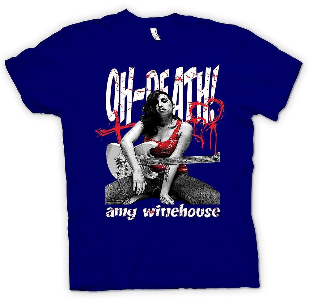 Herr T-shirt - Amy Winehouse - Oh död
