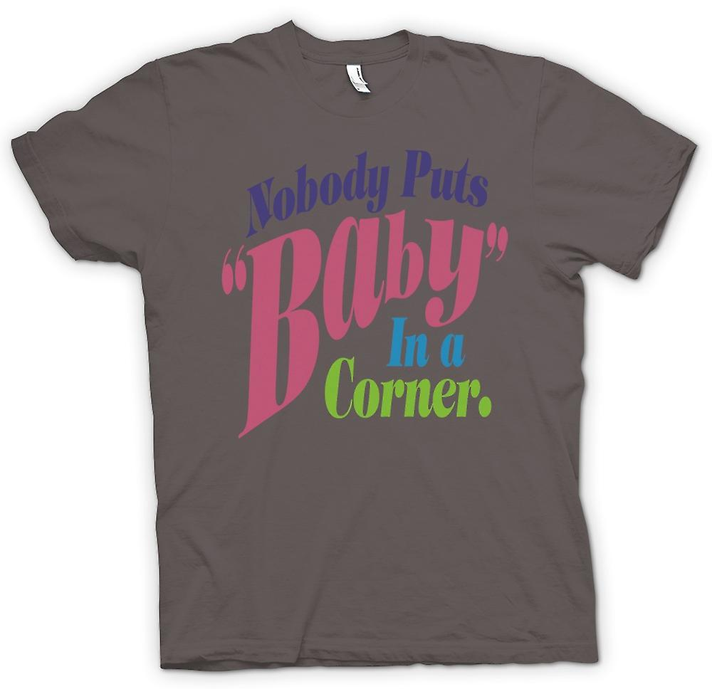 Mens T-shirt - Dirty Dancing - Baby In Corner - Funny