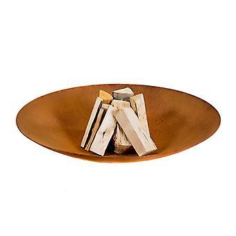 Buddha Lounge Eika brand Ø 120 cm Corten stål-Rust