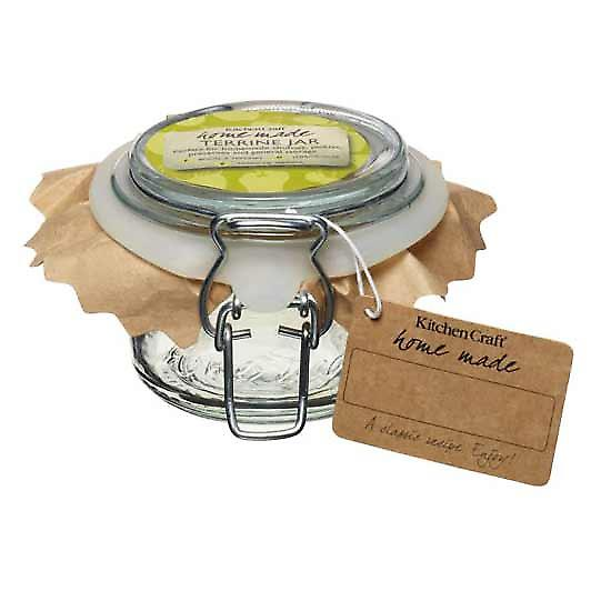 Deluxe glas Terrine potten - 125ml (4oz)