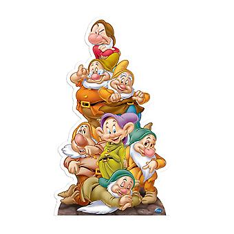 Seven Dwarves (Snow White) - Lifesize Cardboard Cutout / Standee