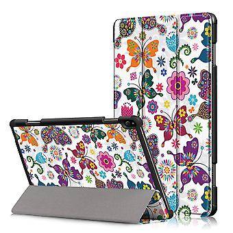 Tri-fold Sleeve to Lenovo Tab P10-Butterflies