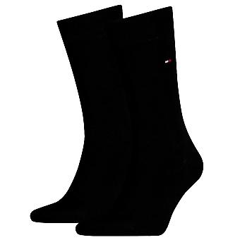 Tommy Hilfiger 2 Pack Classic Sock - Black