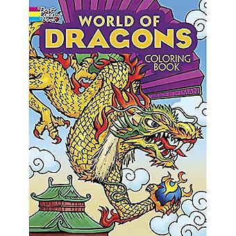 Monde des Dragons, Coloriages