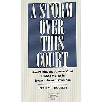 Una tempesta sopra questa Corte
