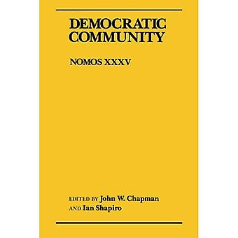 Democratic Community: Nomos XXXV (NOMOS - American Society for Political and Legal Philosophy)