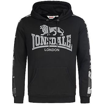 Lonsdale mens hooded tröja Santley