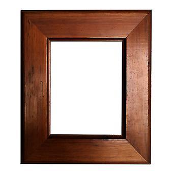 20x25 cm eller 8x10 ins, fotoram i brun