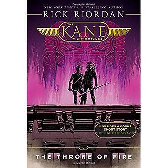 De kronieken van Kane, boek twee de troon van vuur (nieuwe Cover) (Kronieken van Kane)
