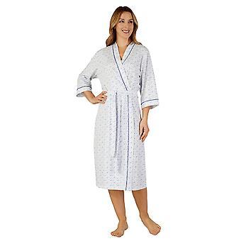 Slenderella HC3115 女性の綿ジャージー ガウン入館入浴ローブ着物