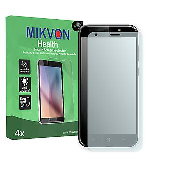 ZTE Blade A6 Screen Protector - Mikvon Health (Retail Package with accessories) (reduced foil)