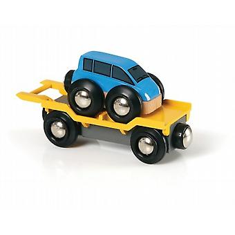 Car Transporter Blue