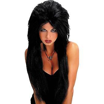 Czarną perukę wampirzyca na Halloween