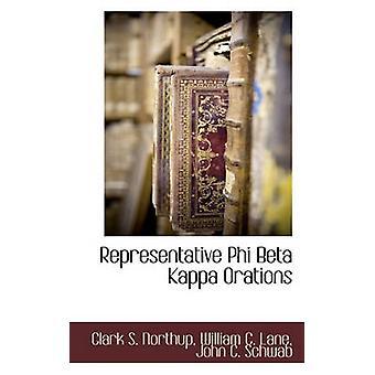 Représentant Phi Beta Kappa oraisons par Northup & Clark s.
