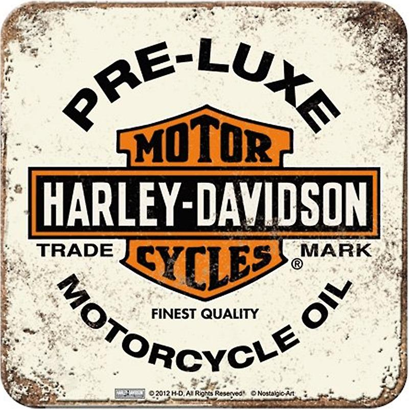 Harley Davidson Pre-Luxe (pale) drinks mat / coaster   (na)