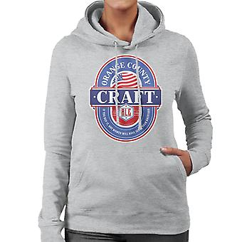 Orange County Craft Ale kvinnor 's Hooded Sweatshirt