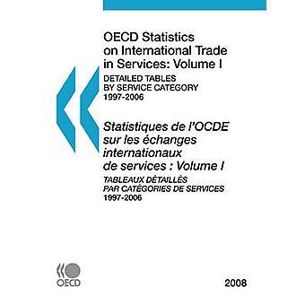 OECD: S statistik om internationell handel med tjänster 2008 volym I detaljerade tabeller av tjänstekategori av OECD Publishing