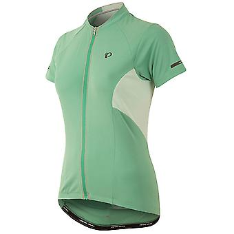 Pearl Izumi Green Spruce Elite Escape Womens Short Sleeved Cycling Jersey