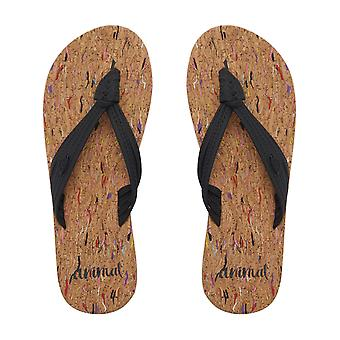 SP18 nero animale estate Womens Flip Flop