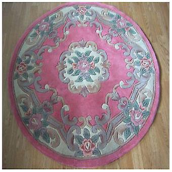 Rugs -Chinese Round - Pink