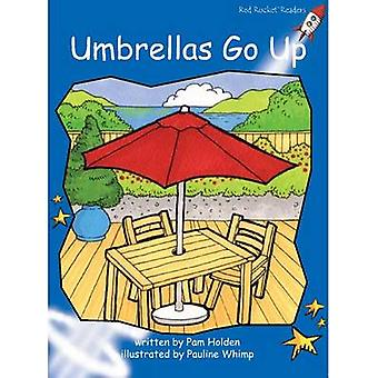 Umbrellas Go Up by Pam Holden - Pauline Whimp - 9781776540730 Book