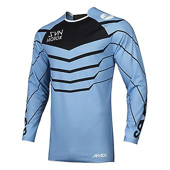 Seven MX Blue-Black 2019 Annex Exo Kids MX Jersey