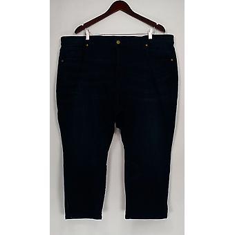 Isaac Mizrahi Live! Donne&s Petite Jeans 26WP Caviglia Lunghezza Blu A307991