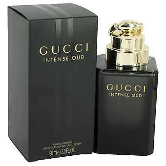 Le Oud Intense Gucci by Gucci Eau De Parfum Spray (Unisex) 3 oz/90 ml (hommes)