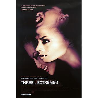 Drei Extreme (Single Sided Regular) Original Kino Poster